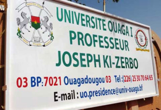Université Ouaga  Joseph-Ki-Zerbo:  Plusieurs directeurs et chefs de services ont été remplacés