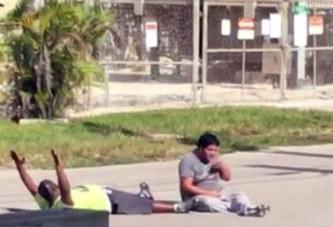 Etats-Unis : un Noir, allongé au sol les mains en l'air, se fait tirer dessus par la police en allant récupérer un patient autiste