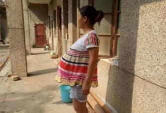 Cette jeune femme est enceinte de 17 mois