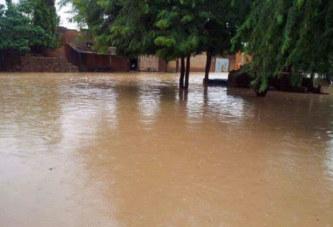 Inondations : une fois de plus, le pont de Rimkièta est sous les eaux