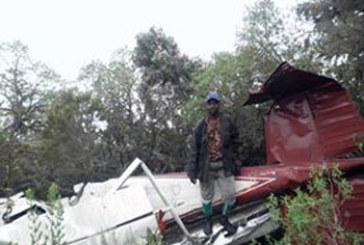 Crash: Un jet retrouvé et abandonné au Mont Cameroun deux ans après sa disparition