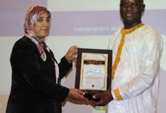Le DG de l'Office national d'Identification (ONI), Arsène Yoda, distingué au Maroc