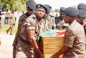 ATTAQUE DU POSTE DOUANIER DE MARKOYE : André Kouraogo repose désormais au cimetière de Gounghin