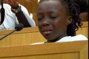 USA: le discours poignant d'une fillette en larmes sur les meurtres des Noirs…Vidéo