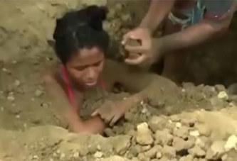 Une adolescente enterrée vivante par sa famille dans le but de la guérir: PHOTOS