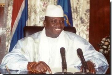 GAMBIE : Jammeh nomme un officier qui a tenté de le renverser