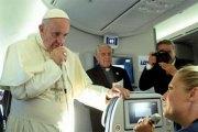 Italie: Le Pape coupe la poire en deux sur la question de la violence islamique