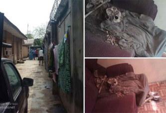 (Photos)Nigéria:  Choquant! un squelette humain découvert dans la maison d'un pasteur