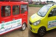 Le Togo lance ses propres voitures électriques solaires