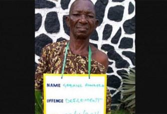 Cruauté : Un homme âgé de 70 ans arrêté pour avoir violé une fille de 8 ans, sourde et muette