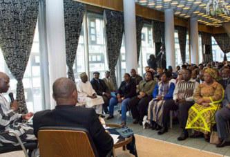 Ambassade du Burkina Faso en France:  Alain Francis Gustave Ilboudo en famille