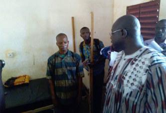 Robert Sangaré, le directeur général de Chuyo Yalgado Ouédraogo : «le mouvement est bien suivi»