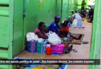 Grève des agents publics de santé : Des hôpitaux déserts, les malades inquiets