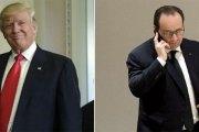 Premier entretien Hollande-Trump : Voici ce qu'ils se sont dit au téléphone !