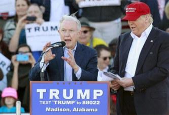 Trump nomme un sénateur ultra-conservateur à la Justice