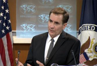 Washington déplore le retrait de Moscou, mais rejette aussi l'autorité de la CPI