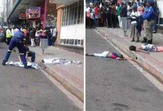 Une femme tue ses deux enfants en les jetant par la fenêtre (Photos)