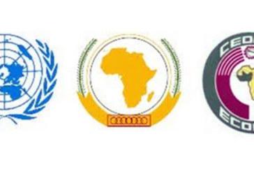 déclaration de la CEDEAO, L'Union africaine et de l'ONU sur l'évolution politique en Gambie