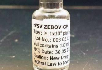 Et voilà le vaccin contre «Ebola» ! Il guéri le malade en 10 jours