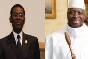 Guinée-Equatoriale: L'arrivée de yahya jammeh à Malabo crée déjà la polémique…Explications!