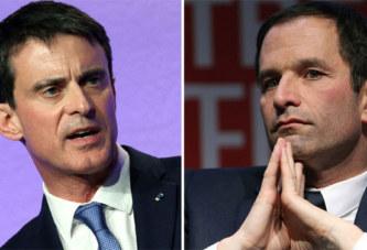 France – Primaire à gauche:  Manuel Valls largement battu parBenoît Hamon
