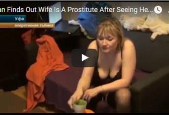 Il découvre au JT que sa femme est une prostituée