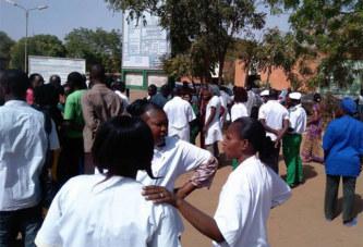 Marche SYNTSHA, les travailleurs de la santé décident de suspendre leur marche et leur sit-in