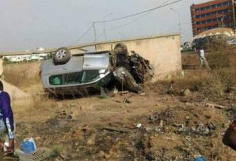 Accident mortel à Ouaga 2000: La police recherche des parents de la victime