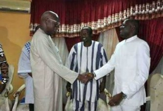 Réconciliation : Salifou Diallo reçoit la CODER