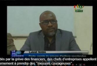 Excédés par la grève des financiers, des chefs d'entreprises appellent le gouvernement à prendre des ''mesures courageuses''