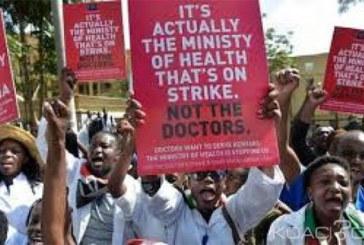 Kenya: Des médecins grévistes radiés, le gouvernement veut faire appel à des étrangers