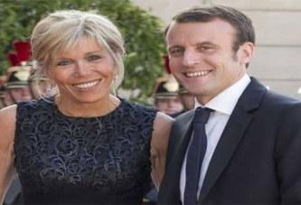 Macron, 40 ans, et sa femme Brigitte 64 ans, un couple qui suscite la polémique