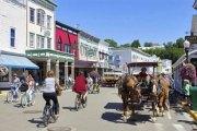 L'île Mackinac, la ville des Etats-Unis où les voitures sont interdites: PHOTOS
