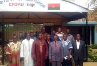 Réconciliation nationale : La CODER et le CFOP main dans la main