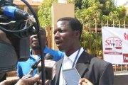 Sit-in des agents du Trésor: «Il n'y aura pas de service minimum, mais nous n'allons pas bloquer les salaires des travailleurs», dixit Harouna Sawadogo, SG adjoint