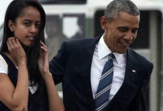 Barack et Michelle Obama « très inquiets » pour leur fille Malia: Voici la raison