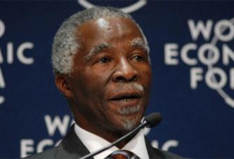 Afrique du sud   Politique:  L'ex-président Mbeki appelle à voter contre Jacob Zuma