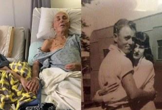 Un couple, marié depuis 62 ans, meurt main dans la main
