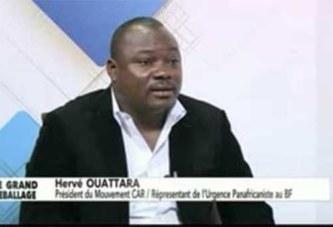 Hervé Ouattara: «Je reconnais que le CAR a été créé par le MPP»