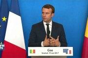 La France va demander à l'ONU d'autoriser une force antiterroriste au Sahel
