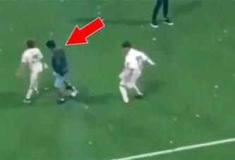 Quand Le fils de cristiano Ronaldo Junior humilie ses copains avec des dribbles incroyables!
