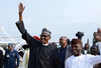 Nigeria: Le président Buhari est enfin de retour