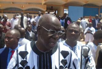 Itinéraire à l'occasion des obsèques de Salifou Diallo