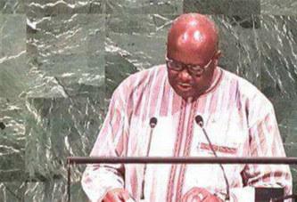 Déclaration du Président du Faso, Roch Marc Christian KABORE à la tribune de l'ONU ce jeudi 21 septembre dans le cadre de la 72ème Assemblée Générale
