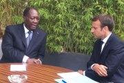 Côte d'Ivoire: Candidature de Ouattara en 2020, le «à l'issue de son mandat» de Macron qui bouscule tout