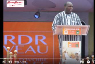 Zephirin Diabré: «Alassane Ouattara est mille fois présidentiable»