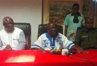 Burkina/Situation sécuritaire : Simon Compaoré annonce des « mesures fortes et pérennes »
