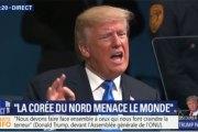 A l'ONU, Trump menace de