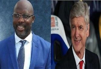 Présidentielle Liberia : Arsène Wenger félicite par erreur George Weah pour sa victoire