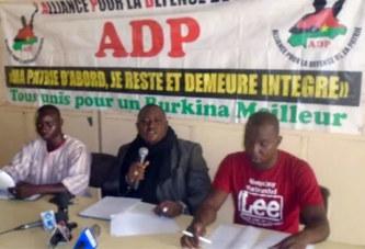 Situation nationale : l'ADP dénonce «  l'incapacité du Gouvernement Thiéba à faire face au terrorisme »